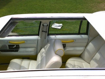 "40"" X 55"" Three Fold Sliding Rag Top - displayed on a vehicle"