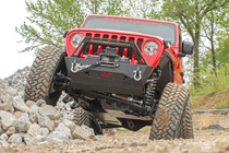 6in Jeep Long Arm Suspension Lift Kit (18-20 Wrangler JL | 4-Door) front view