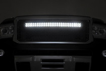 GMC Mesh Grille w/ 30IN Dual Row Black Series LED (15-19 Canyon) - night view