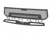 Toyota Mesh Grille w/ 30IN Dual Row Black Series LED (14-17 Tundra) Black Series