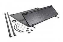 GM Low Profile Hard Tri-Fold Tonneau Cover (07-13 GM 1500) complete kit