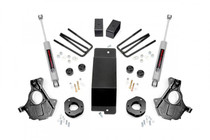 3.5IN GM Suspension Lift | Knuckle Kit (07-13 1500 PU 4WD) with strut spacers and N3 Shocks