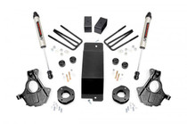 3.5IN GM Suspension Lift | Knuckle Kit (07-13 1500 PU 4WD) with strut spacer and V2 Monotube shocks