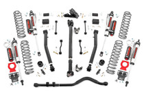 3.5In Jeep Suspension Lift Kit | Stage 2 Coils and Adjusting Control Arms - Vertex Reservoir