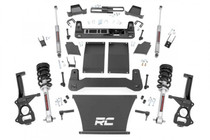 4in GM Suspension Lift Kit (19-20 GM 1500 Trailboss/AT4 PU 4WD) with lifted struts