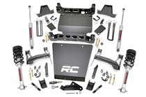 7in GM Suspension Lift Kit | Bracket Kit (14-18 1500 PU 4WD) with Lifted Struts