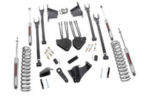 8in Ford 4-Link Suspension Lift Kit (05-07 F-250/350 4WD | Diesel) - Premium N3