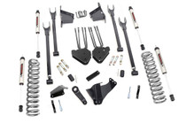 8in Ford 4-Link Suspension Lift Kit (05-07 F-250/350 4WD | Diesel) - V2 Monotube