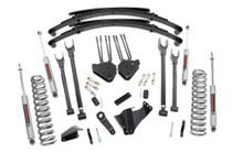 8in Ford 4-Link Suspension Lift System (05-07 F-250/350 4WD | Diesel) - Premium N3