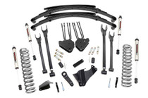 8in Ford 4-Link Suspension Lift System (05-07 F-250/350 4WD | Diesel) - V2 Monotube