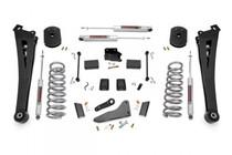 4.5IN Dodge Suspension Lift Kit w/ Coil Spacers/Radius Drops (14-8 Ram Powerwagon 2500 4WD Gas)