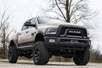 4.5IN Dodge Suspension Lift Kit w/ Coil Spacers/Radius Drops (14-8 Ram Powerwagon 2500 4WD Gas) - vehicle front view