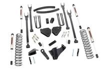 6in Ford 4-Link Suspension Lift Kit (05-07 F-250/350) - V2 Monotube