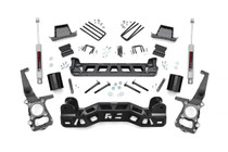 6in Ford Suspension Lift Kit (09-10 F-150 2WD) - Strut Spacers and N3 Shocks
