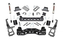 6in Ford Suspension Lift Kit (09-10 F-150 2WD) - Strut Spacers and V2 Monotube
