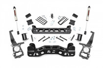 4in Ford Suspension Lift Kit (09-10 F-150) - V2 Monotube
