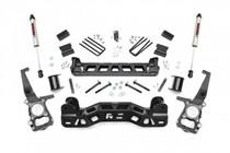 4in Ford Suspension Lift Kit (09-10 F-150) - V2 Monotube