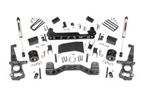 4in Ford Suspension Lift Kit (15-19 F-150 4WD) - Strut spacers w/ V2 monotube shocks