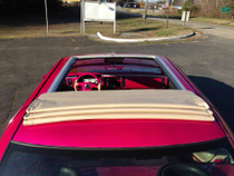 "44"" X 55"" Folding Sliding Rag Top ""1993-1996 Cadillac Fleetwood"" - displayed on a vehicle"