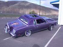 "40"" X 40"" Folding Sliding Rag Top ""1978-1988 G-Body"" - displayed on a vehicle"