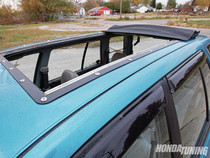 "35"" X 55"" Folding Sliding Rag Top ""1988-1991 Honda Civic Wagon (Wagovan)"""