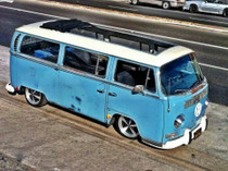 "40"" X 100"" Folding Sliding Rag Top ""1968-1979 VW Bus"""