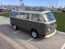 "46"" X 100"" Folding Sliding Rag Top ""1968-1979 VW Bus"""