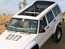 "35"" X 70"" Folding Sliding Rag Top ""1984-2001 Jeep Cherokee XJ"""