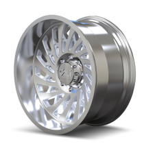Cali Offroad Switchback 9108 Polished 20x12 8x170 -51mm 130.8mm - side view