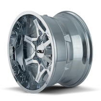 Cali Offroad Obnoxious 9107 Chrome 20x10 6x135/6x5.50 -19mm 106mm - side view