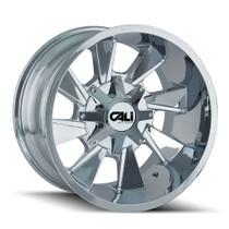 Cali Offroad Distorted 9106 Chrome 20x12 8x6.50/8x170 -44mm 130.8mm