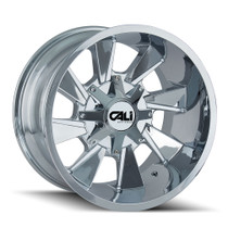 Cali Offroad Distorted 9106 Chrome 20x9 8x6.50/8x170 18mm 130.8mm