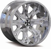 Cali Offroad 9101 Americana Chrome 24x14 8x180 -76mm 124.1mm