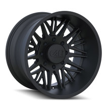 Cali Offroad Rawkon Matte Black 20x12 8x180 -51mm 124.1mm