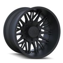 Cali Offroad Rawkon Matte Black 24x12 5x5.50 -51mm 87.1mm