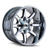 Cali Off-Road Busted PVD2 Chrome 22x12 8x180 -44mm 124.1mm
