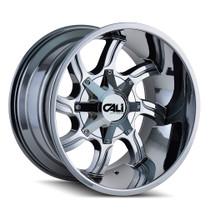 Cali Off-Road Twisted Chrome 22x12 8x6.50/8x170 -44mm 130.8mm