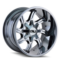 Cali Off-Road Twisted Chrome 20x12 8x6.50/8x170 -44mm 130.8mm