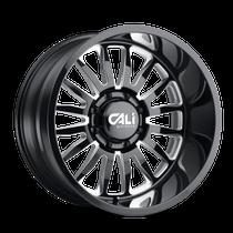 Cali Offroad Summit Gloss Black/Milled Spokes 20x9 8x170 0mm 125.2mm