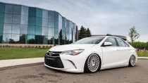2012-2018 Toyota / 2016-2018 Lexus ES350 Air Lift Kit with Manual Air Management - displayed on a vehicle