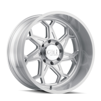 Cali Offroad Sevenfold Brushed & Clear Coated 22x12 8x170 -51mm 130.8mm