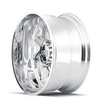 Cali Offroad Sevenfold Polished 24x12 8x170 -51mm 130.8mm - side view