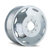 Cali Off-Road Brutal Inner Chrome 20x8.25 8x6.50 115mm 116.7mm