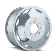 Cali Off-Road Brutal Inner Chrome 20x8.25 8x6.50 115mm 121.3mm