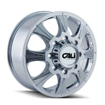 Cali Off-Road Brutal Front Chrome 20x8.25 8x6.50 127mm 121.3mm