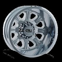 Cali Off-Road Brutal Rear Chrome 22x8.25 8x6.50 -180mm 116.7mm