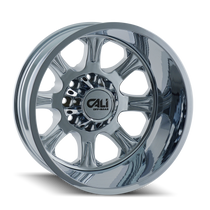 Cali Off-Road Brutal Rear Chrome 20x8.25 8x210 -180mm 154.2mm
