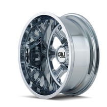 Cali Off-Road Brutal Rear Chrome 20x8.25 8x6.50 -180mm 116.7mm- side view