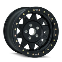 Dirty Life Roadkill Matte Black Beadlock 17x9 5x114.3 -14mm 83.82mm