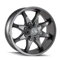 ION 181 Graphite 17x9 6x135/6x139.7 18mm 106mm
